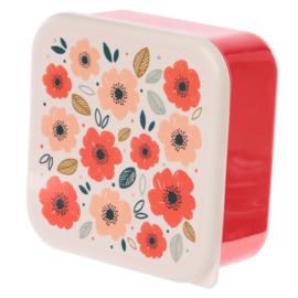 Lunchboxen set M/L/XL- klaprozen