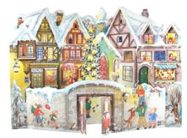 3D Adventskalender Kerstdorp
