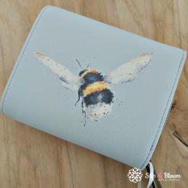 "Wrendale small purse ""Bumblebee"" - hommel"