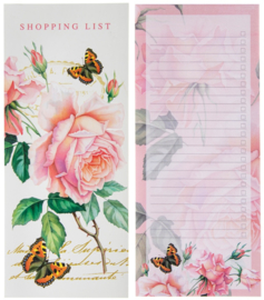 Redoute Rose shopping list