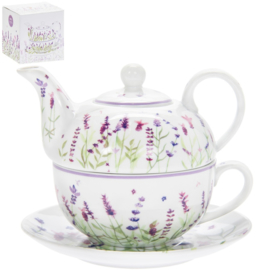 Purple Lavender - tea for one