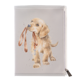 "Wrendale Notebook Wallet ""A Dog's Life"""