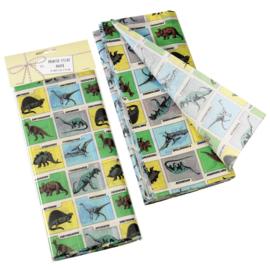 Vloeipapier - prehistoric dinosaur - per 10 vellen