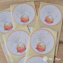 Sticker 45mm - confetti - per 10