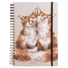 "Wrendale A4 Notebook ""Contentment"""