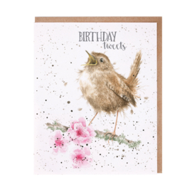 "Wrendale greeting card ""Birthday Tweets"" - winterkoninkje"