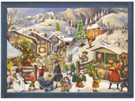Adventskalender Kerstdorp