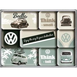 Magneetset - Volkswagen - Bulli & Beetle