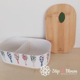 Bioloco plant lunchbox - Flower brushes