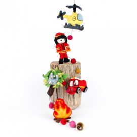 Vilten slinger - brandweer