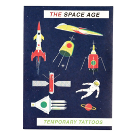 Plak tattoos - the space age