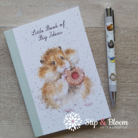 "Wrendale A6 Paperback Notebook ""Hamster"""