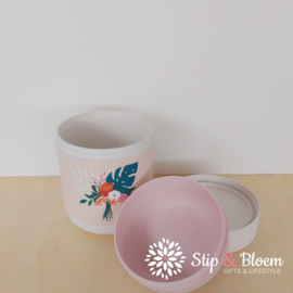 Bioloco plant lunchpot - Tropical flowers