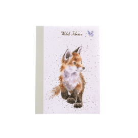"Wrendale A6 Paperback Notebook ""Fox"""