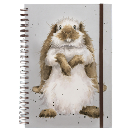 "Wrendale A4 Notebook ""Earisistible"""
