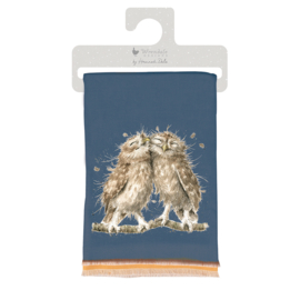 Wrendale winter scarf - Birds of a Feather - uil