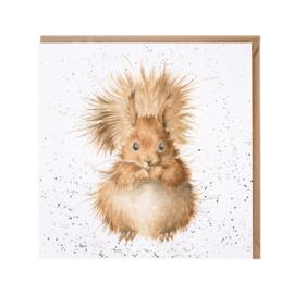 """Wrendale greeting card - """"Redhead"""" - eekhoorn"""