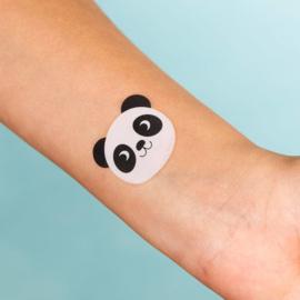 Plak tattoos - panda, cat & bunny