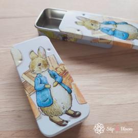 Schuifblikje - Peter Rabbit
