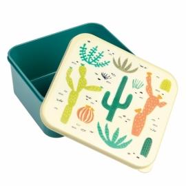 Lunchtrommel / broodtrommel - cactus/desert