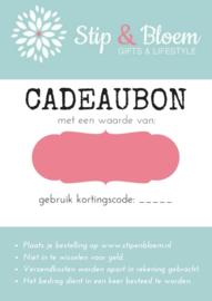 Stip & Bloem Cadeaubon twv € 100,=