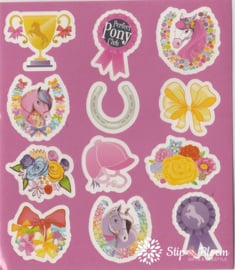 Stickervelletje pony's