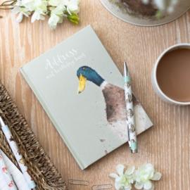"Wrendale Address Book ""Guard Duck"""