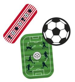 Pleister blikje - voetbal
