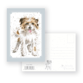 """Wrendale postcard """"Time to Play"""" - hond"""