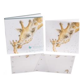 "Wrendale Notecard Pack ""Giraffe"""