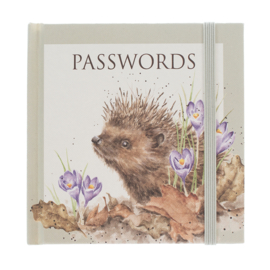 Wrendale Password Book - egel