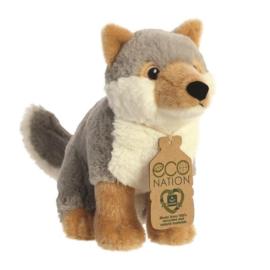 Eco Nation knuffel wolf