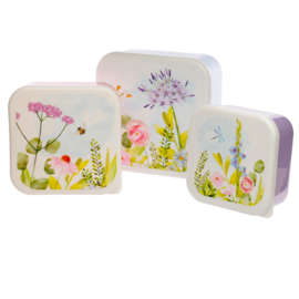 Lunchboxen set M/L/XL - garden