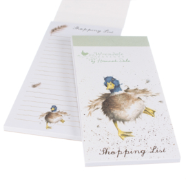 "Wrendale Magnetic Shopping Pad ""A Waddle and a Quack"""