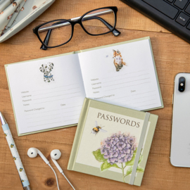 Wrendale Password Book - Busy Bee