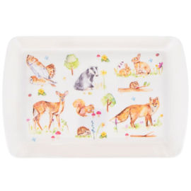 Woodland Wildlife medium tray