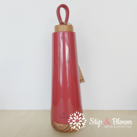 Bioloco Loop thermosfles - 500 ml - cherry