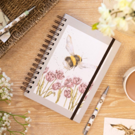 "Wrendale A5 Notebook ""Flight of the Bumblebee"""