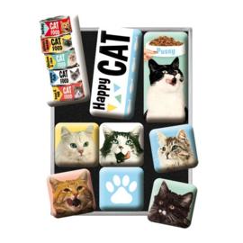 Magneetset - Happy Cats