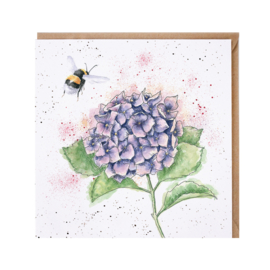 "Wrendale greeting card - ""The Busy Bee"""