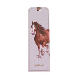 """Wrendale boekenlegger """"Horse"""" - paard"""