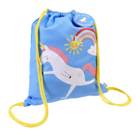 Drawstring rugzak magical unicorn