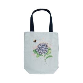 "Wrendale canvas tote bag ""Hydrangea"" - hommel"