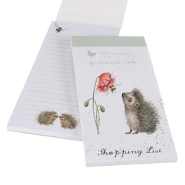 """Wrendale Magnetic Shopping Pad """"Busy as a Bee"""" - egel"""