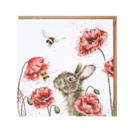"""Wrendale greeting card - """"Let it Bee"""" - haas & bij"""