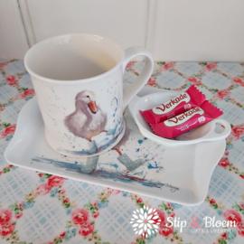 Bree Merryn melamine mini tray - Deirdre duck