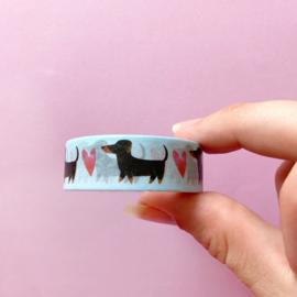 Washi tape - teckel
