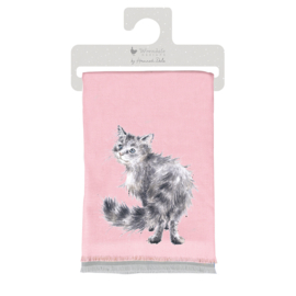 Wrendale winter scarf - Glamour Puss - poes