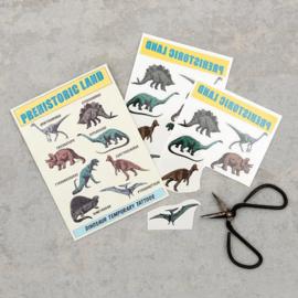 Plak tattoos - prehistoric dinosaur