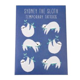 Plak tattoos - Sidney de luiaard